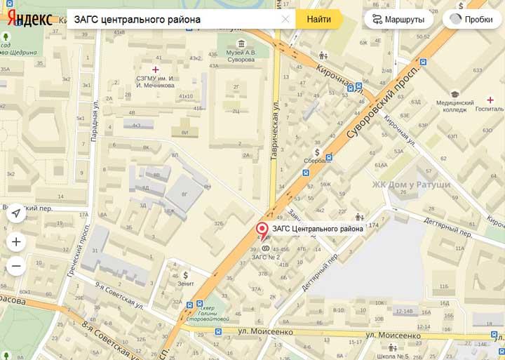 ЗАГС_центральный_карта