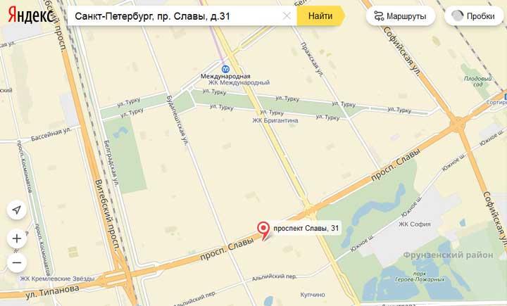 на_карте_отдел_загса_фрунзенского_района