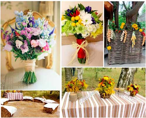 Букеты на украинскую свадьбу