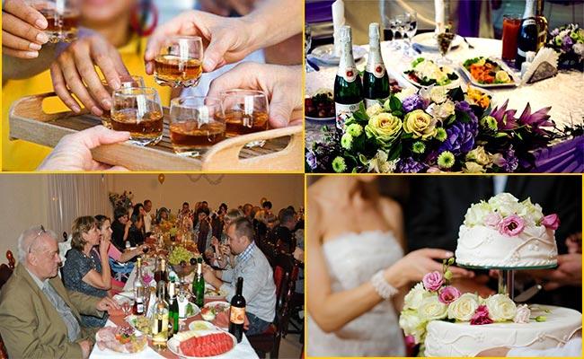 Выбираем алкоголь и торт на свадьбу