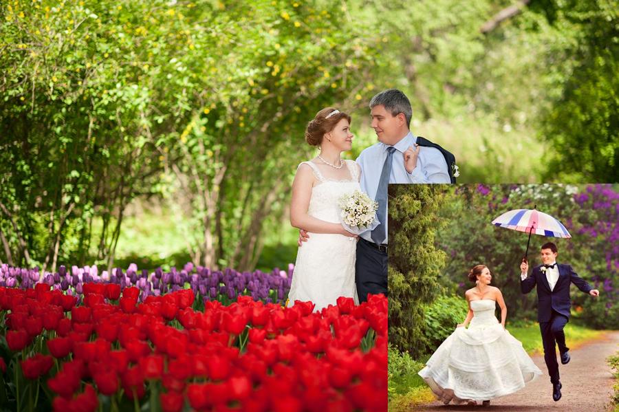 Красота майских свадеб