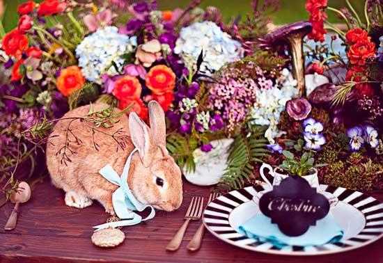 Кролик на свадьбе алисы