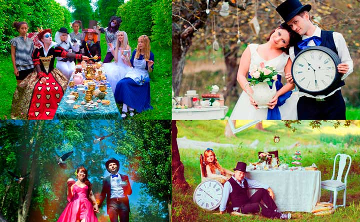 Мелочи для декора на свадьбе Алисы в стране чудес