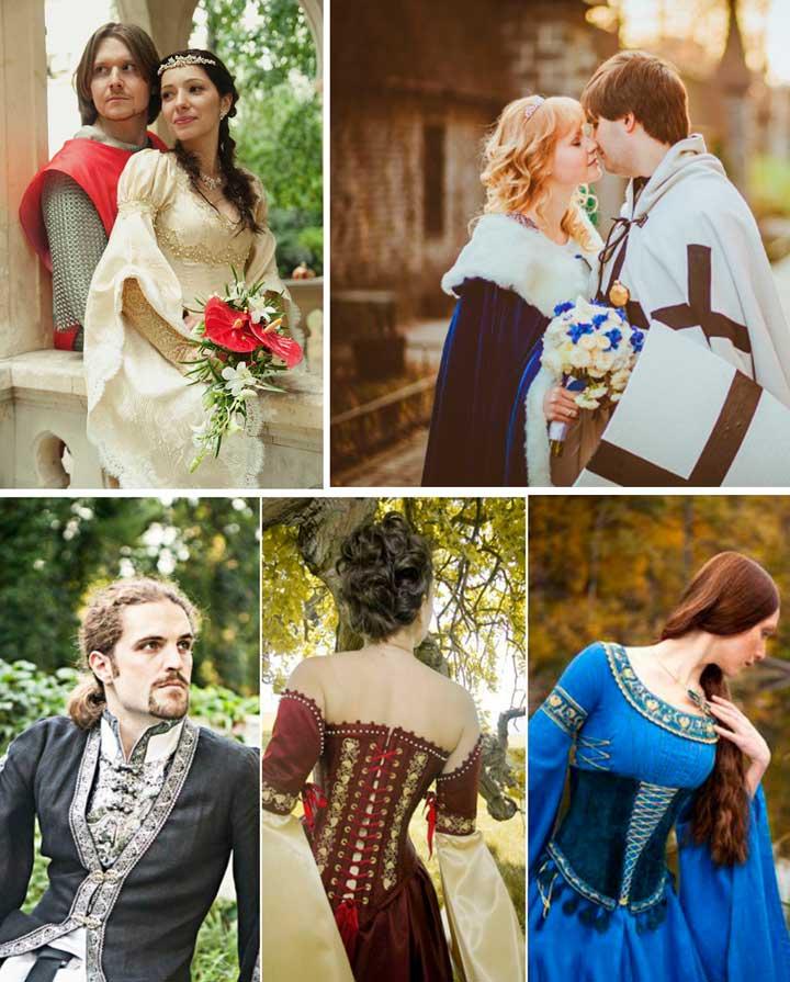 Наряды на свадьбу жениха и невесты