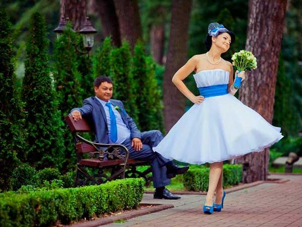 Наряды для молодоженов на свадьбу