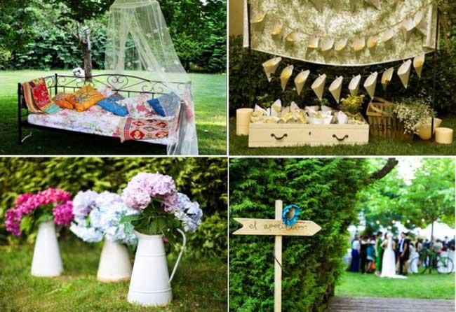 Цветы и природа на экологичной свадьбе