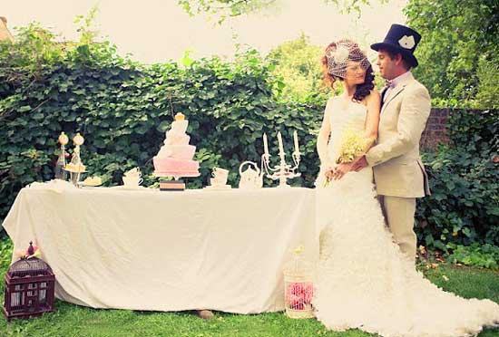 Платье невесты на свадьбу Алисы
