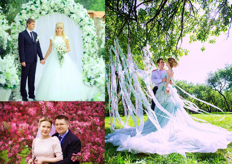 Природа свадеб в мае