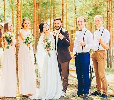 Рустик подружки невесты