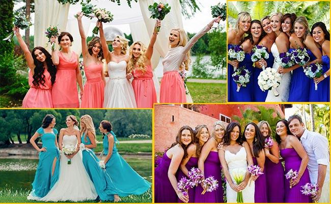 Стиль для подружек невесты