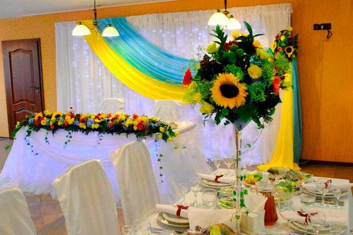 Столы украинской свадьбы