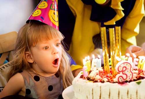 Съемка дня рождения детей