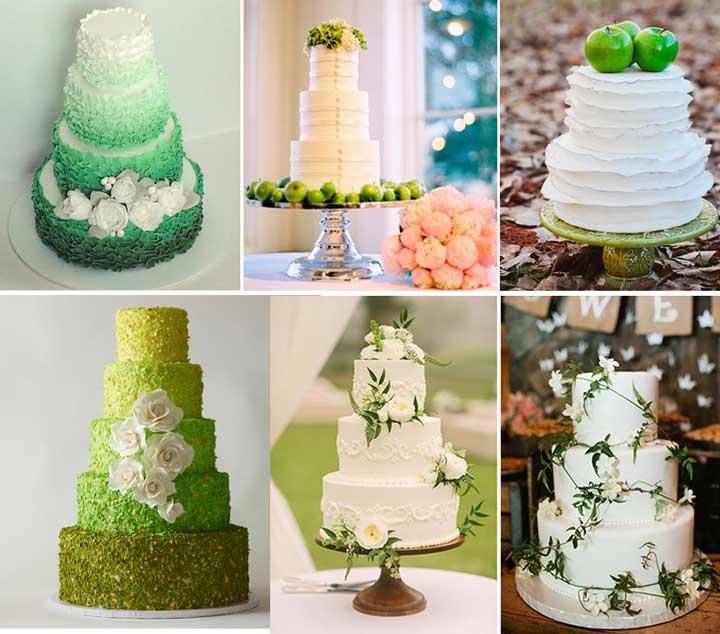 торт_зеленый_на_свадьбу
