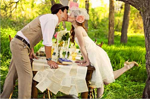 Еда эко свадьба жених и невеста