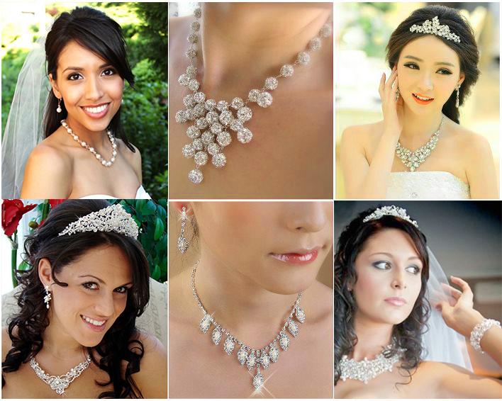 Свадебные украшения невесты