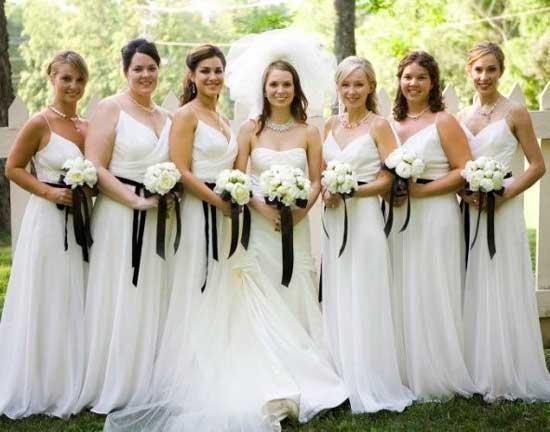 Белая свадьба невесты