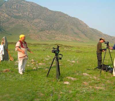 Видеосъемка шамана