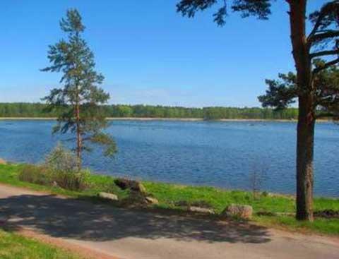 Выборгский участок на финском заливе