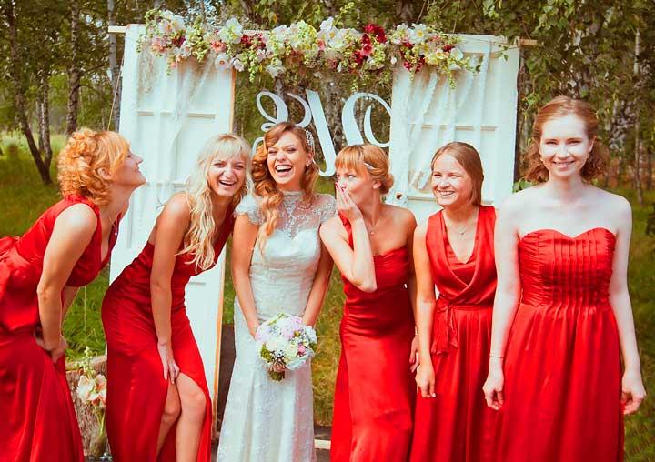 Образ невесты вишневой свадьбы