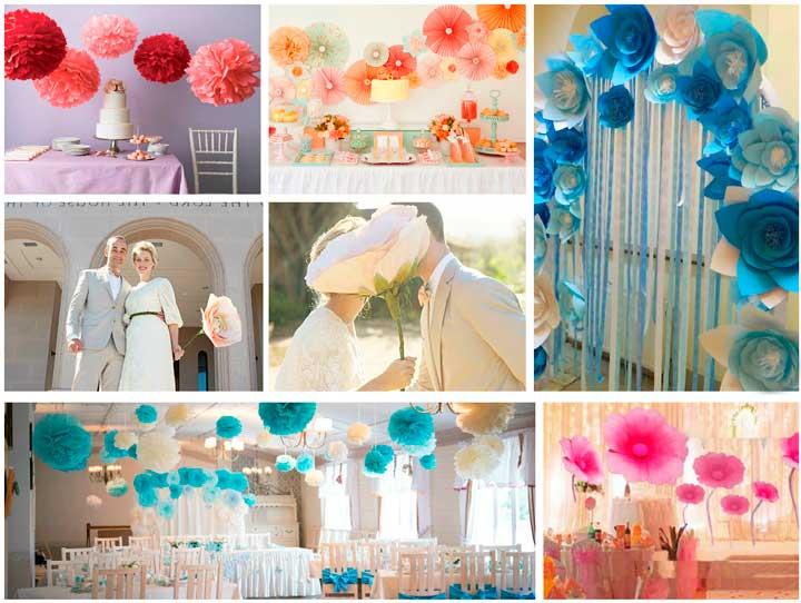 Свадебные элементы декора