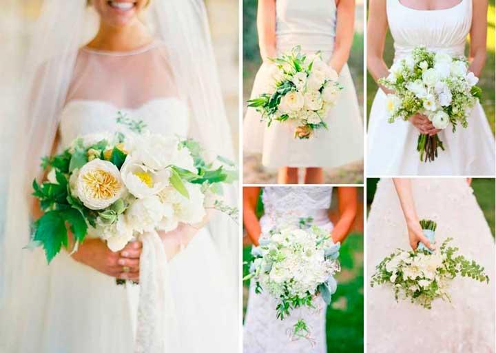 Свадебный наряд неветы в белом стиле