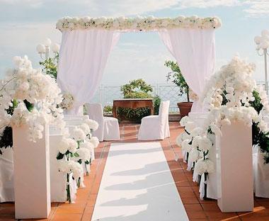 Белый стиль свадьбы