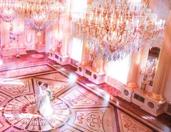 Съемка во дворце загса