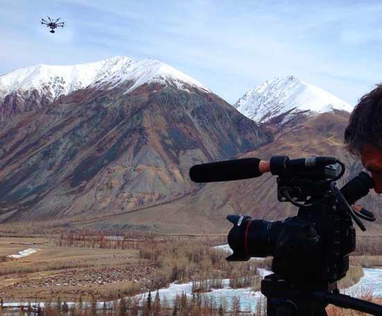 Съемка документального фильма
