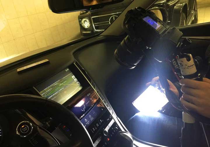 Съемка обзора автомобилей