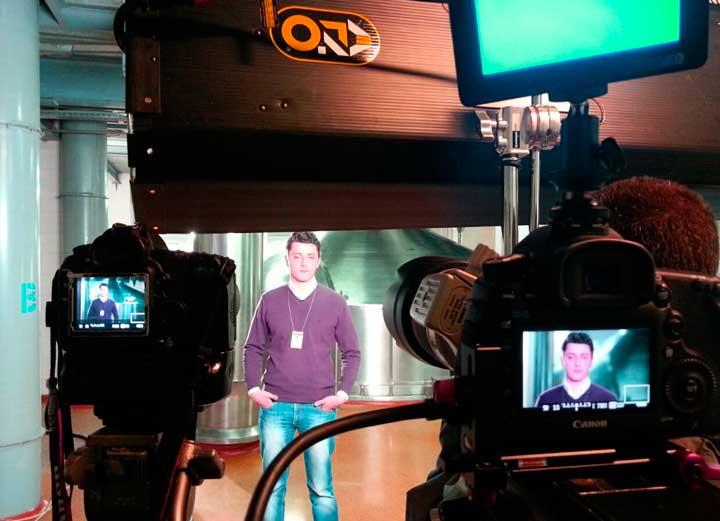 Съемка репортажа с двух камер