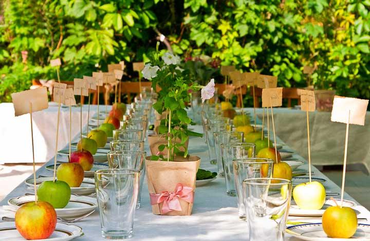 Безалкогольный стол на свадьбе