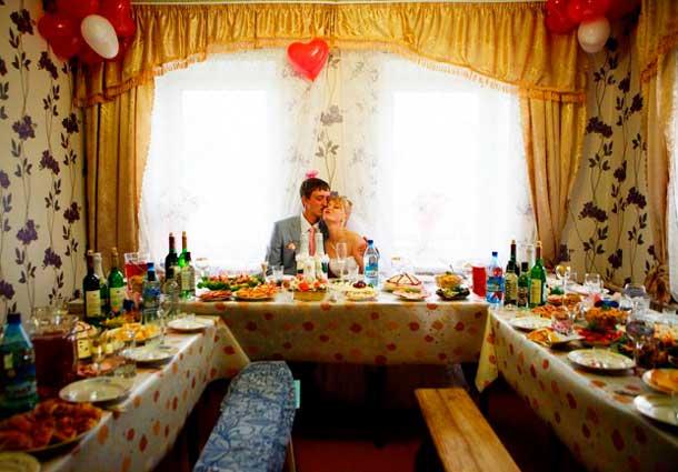 Веганская свадьба в доме