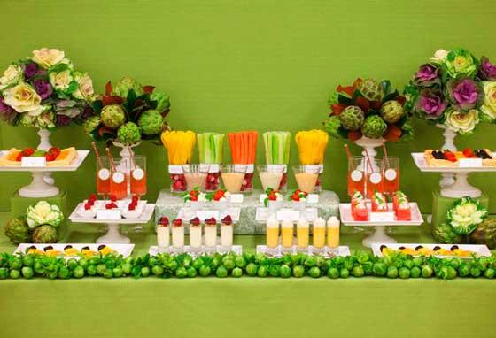 Вегетарианский повар на свадебный праздник