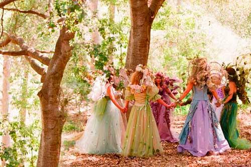 Подружки эльфиской невесты