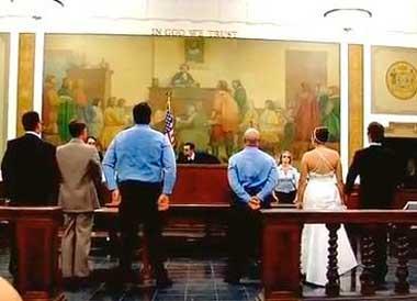 Выкуп в суде для жениха и невесты