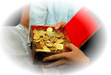 Выкуп невесты за монеты