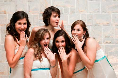 Русалки подружки невесты