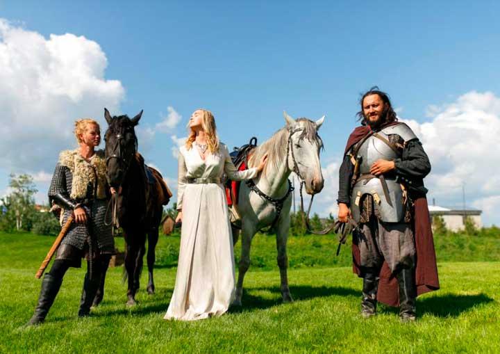 Гонец на свадьбе- в стиле игры престолов