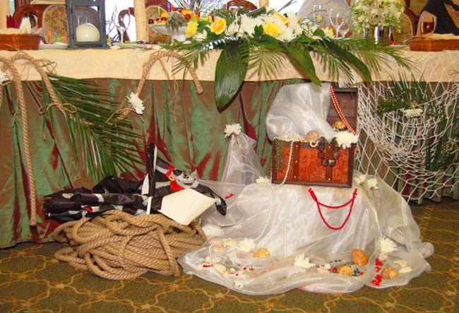 Декор помещения для свадебного выкупа