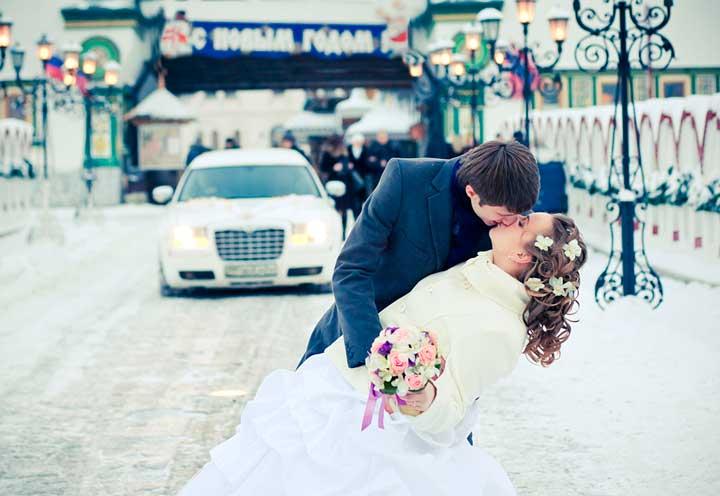 Жених въезжает к невесты