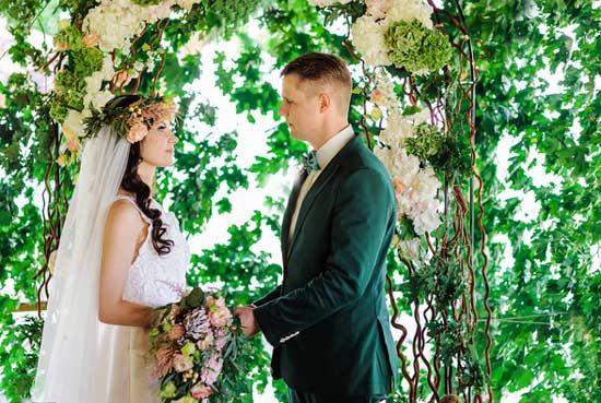 Жених и невеста в Эльфийском стиле