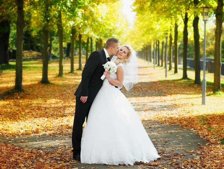 Прогулка свадебная