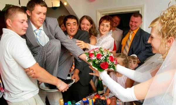 Интересный сценарий для жениха на свадьбе