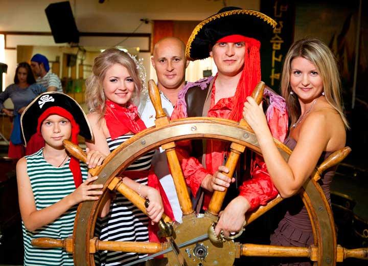 Ключевые персонажи на пиратском выкупе