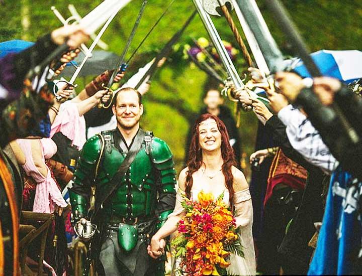 Королевская свадьба жениха и невесты