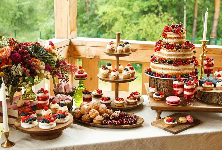 Королевские сладости на свадьбу