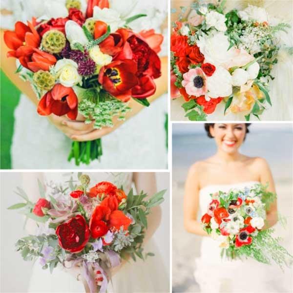 Красно-зеленая свадьба