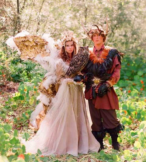 Лесная свадьба волшебных эльфов