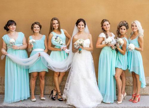 Невеста в стиле Тиффани