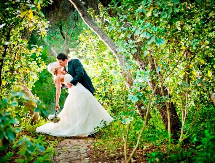 Образ жениха невесты в лесу